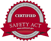 1.800.746.7539 Security Safety Act Certification