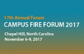 Campus Fire Forum 2017